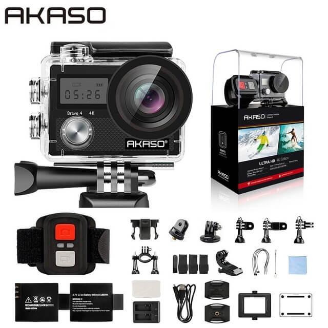 Топ-10 лучших экшн-камер с Aliexpress